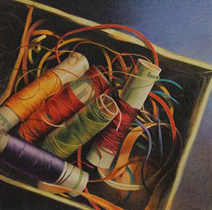 le-spagnolette-di-cartone-ii-2015-grafite-e-matite-colorate-su-carta-fabriano-tiepolo-cm-50x50