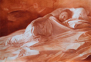 giovanni-cesca-elisa-1999-sanguigna-su-carta-fabriano-cm-100x145