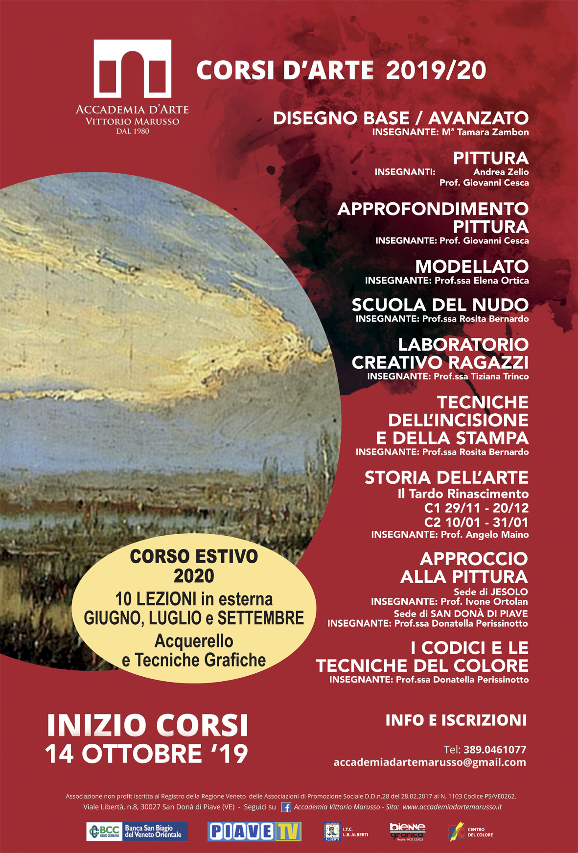 locandina CORSI 2019-20